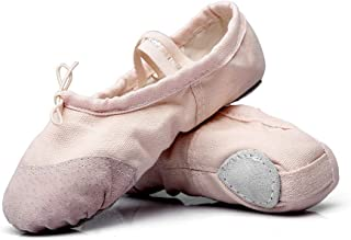 Kids Ballet Flats Professional Performa Dance Party Shoe for Girls