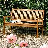 Banco de madera dura de jardín es adecuado para jardín balcón (2 personas),Garden bench