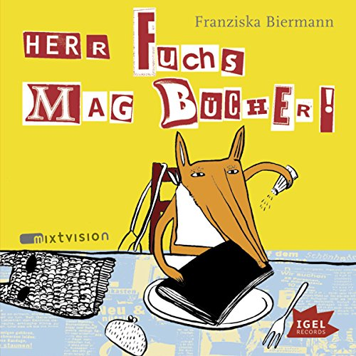 Herr Fuchs mag Bücher audiobook cover art