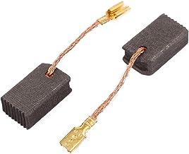 sourcingmap® 1 par de Escobilla de Carbono del motor de herramienta taladro eléctrico giratorio 6 x 9 x 15mm con Resorte