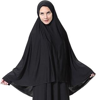 تي شيرت نسائي مسلم طويل الطراز من GladThink باللون الأسود