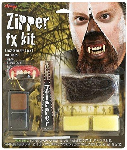 Deluxe Zipper Fx Kit - Warewolf