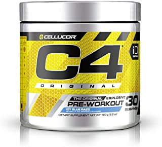 Cellucor C4 Prework out iD Series Icy Blue Razz 30 Servings