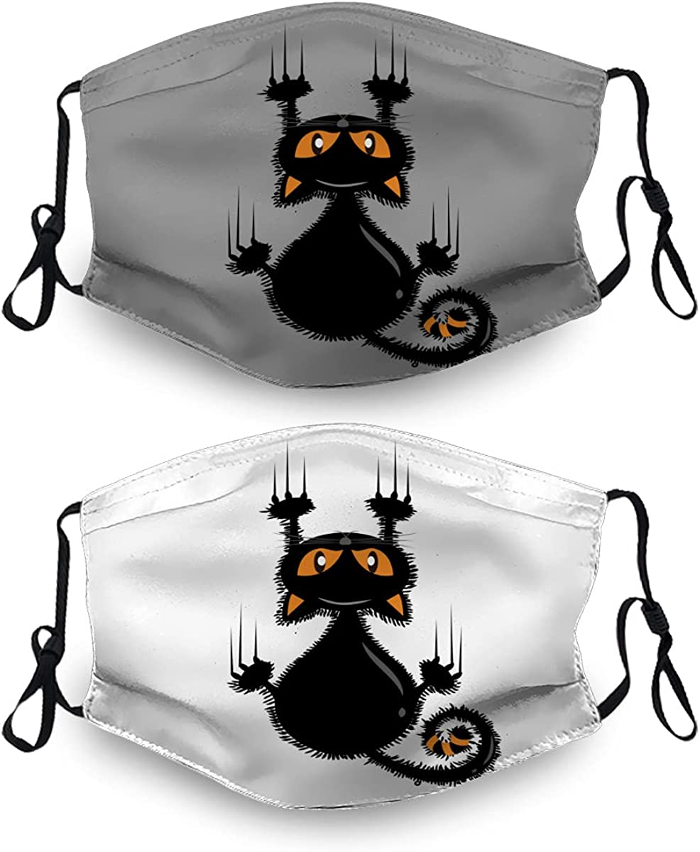 Halloween Ranking TOP17 Ma-Sk Washable Dust Mask Reusable 4 5 ☆ very popular Filter Sets with 2