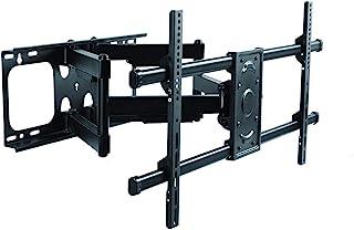Premim Mount - Heavy Duty Dual Arm Articulating TV Wall Mount Bracket for LG 49SM8600PUA Nano 8 Series 4K 49 inch Class Smart UHD NanoCell TV w/AI ThinQ Tilt & Swivel with Reduced Glare - Buy Smart!