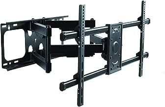 Premium Mount - Heavy Duty Dual Arm Articulating TV Wall Mount Bracket for Samsung QN82Q8FNBFXZA 82