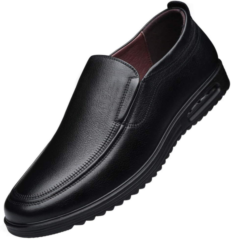 XDLJL Herren Casual Lederschuhe Low Cut Single Schuhe Leder  | Um Zuerst Unter ähnlichen Produkten Rang