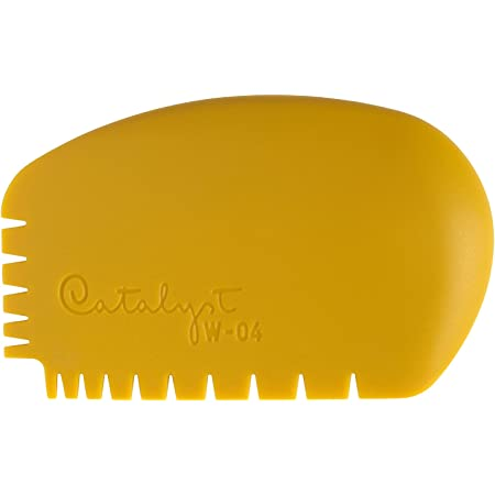 Princeton Catalyst Silicone Tools wedge no. 4 yellow