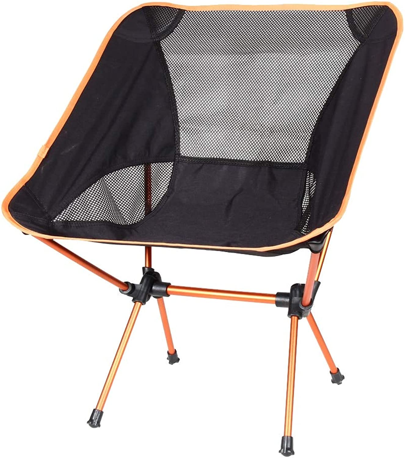 2 pcs of Lightweight Beach Chair Outdoor Portable Folding Lightweight Camping Chair for Hiking Fishing Picnic Barbecue Vocation Casual