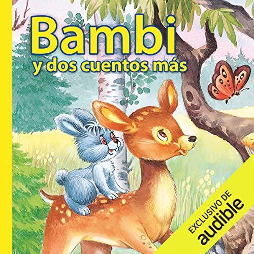 Diseño de la portada del título Bambi y dos cuentos más
