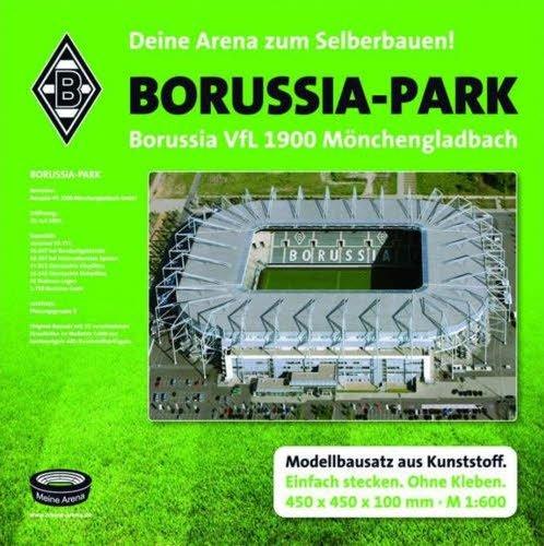 Meine Arena Borussia Mönchengladbach Stadion Borussia Park Stadionbausatz zum Selberbauen Fanartikel/Geschenk …