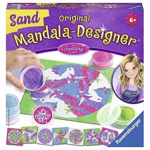 Ravensburger Italy- Mandala Designer Sand Fantasy Gioco Creativo, 29729