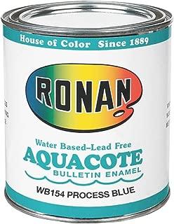 Ronan Aquacote Enamel 8 Oz Process Blue