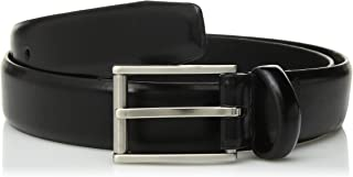 Calvin Klein Men's Feather-Edge Semi-Shine Belt