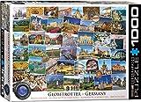 EuroGraphics Puzzle Globetrotter Deutschland