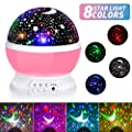 Baby Star Night Light, LED Night for Baby Kids
