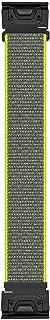 PONATTENO 22mm QuickFit Nylon Watch Band for Fenix 6/Fenix 5, Soft Loop Sport Wristband Strap for Garmin Fenix 6 Pro/Sapph...