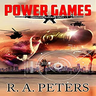 Power Games: Operation Enduring Unity I: The Second Civil War audiobook cover art