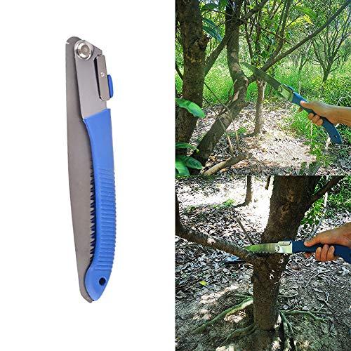 XiaoOu Scie à Main Scie à métaux Manuellement Jardin Pliage Coupe Logging Jardin horticole Bois Menuiserie Scie Manuelle scies à Main pour Couper du Bois