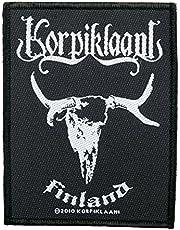 korpiklaani parche–Finland–korpiklaani Patch–tejida & licencia oficial..