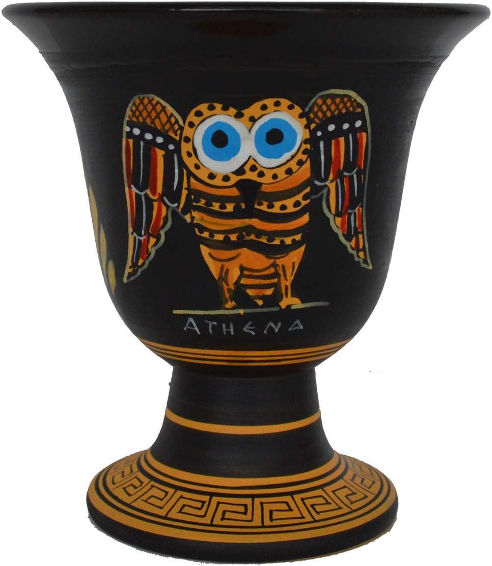 Talos Artifacts Copa Pitágoras - Feria Pitágoras Copa de Justicia Búho de Sabiduría Símbolo de Atenea