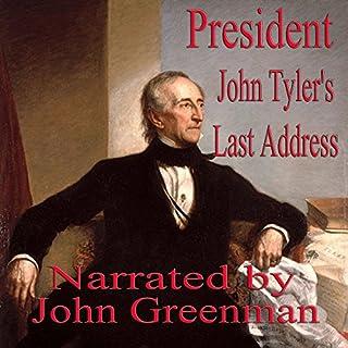 President John Tyler's Last Address cover art