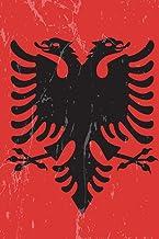 Albania Flag Journal: Albania Travel Diary, Albanian Souvenir Book, lined Journal to write in
