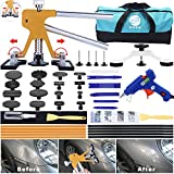 GLISTON 45pcs Paintless Dent Repair Tool Dent Puller Kit, Adjustable Width, Pops a Dent...