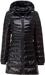Heroic spirit Winter Casual Jackets Women Ultra Light White Duck Down Warm Jacket Ladies Hooded Coat Female