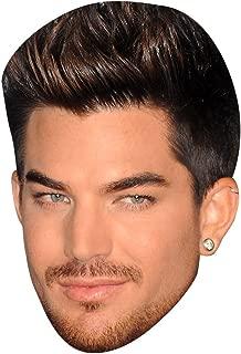 Adam Lambert Celebrity Mask, Card Face and Fancy Dress Mask