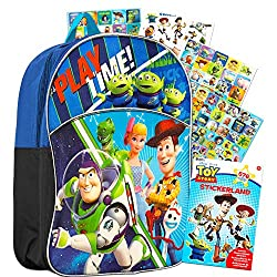 Toy Story 4 backpack blue