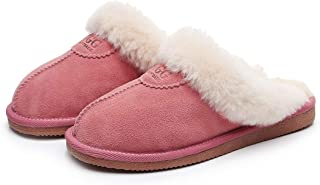 UGG 1978AUS EOFY Slippers- Australian Shepherd Unisex Scuff/Slippers, Genuine Sheepskin Lining, Amazing Comfort and Warmth