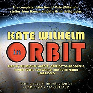 Kate Wilhelm in Orbit audiobook cover art