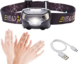 Hoofd Torch LED Oplaadbare Running Koplamp 4000Lm Body Motion Sensor LED Koplamp Camping Zaklamp Hoofd Licht Torch Lamp Me...