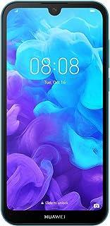"""HUAWEI Y5 2019 Smartphone, Dual-SIM 5.71"""" Dewdrop Display, 2 GB RAM, 32 GB ROM, Sapphire Blue"""