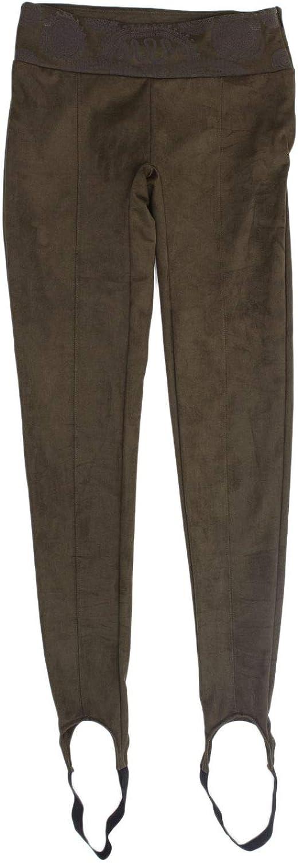 Desigual Women's 18WWPK13GREEN Green Polyester Leggings
