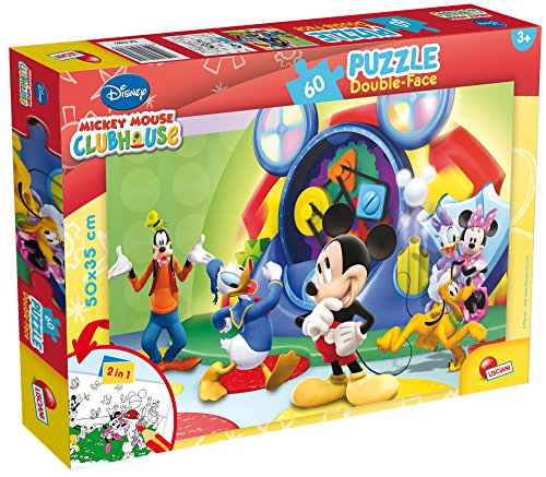 Lisciani- Puzzle, Mickey Mouse (Colorbaby 42660)