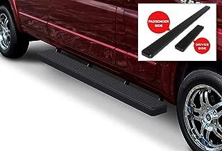 Passenger-Side for Select Ram ProMaster 1500 3500 2500 LUVERNE 415254-401473 Grip Step Black Aluminum 54-Inch Cargo Van Running Board
