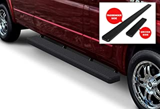 APS iBoard (Black Powder Coated 6 inches) Running Boards Nerf Bars Side Steps Step Rails Compatible with 2014-2020 Dodge ProMaster Full Size Van 136 inches 159 inches Wheelbase