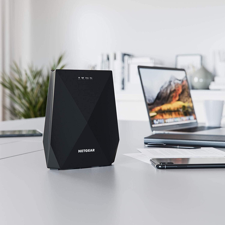 Netgear Nighthawk X6 AC2200 Ext.New Retail, EX7700-100PESNew Retail Tri-Band WiFi Mesh