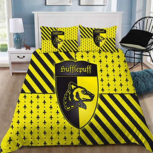 ysldtty Fashion Potter 3D Bedding Set Printed Duvet Cover Set Queen King Twin Size 220cm x 240cm