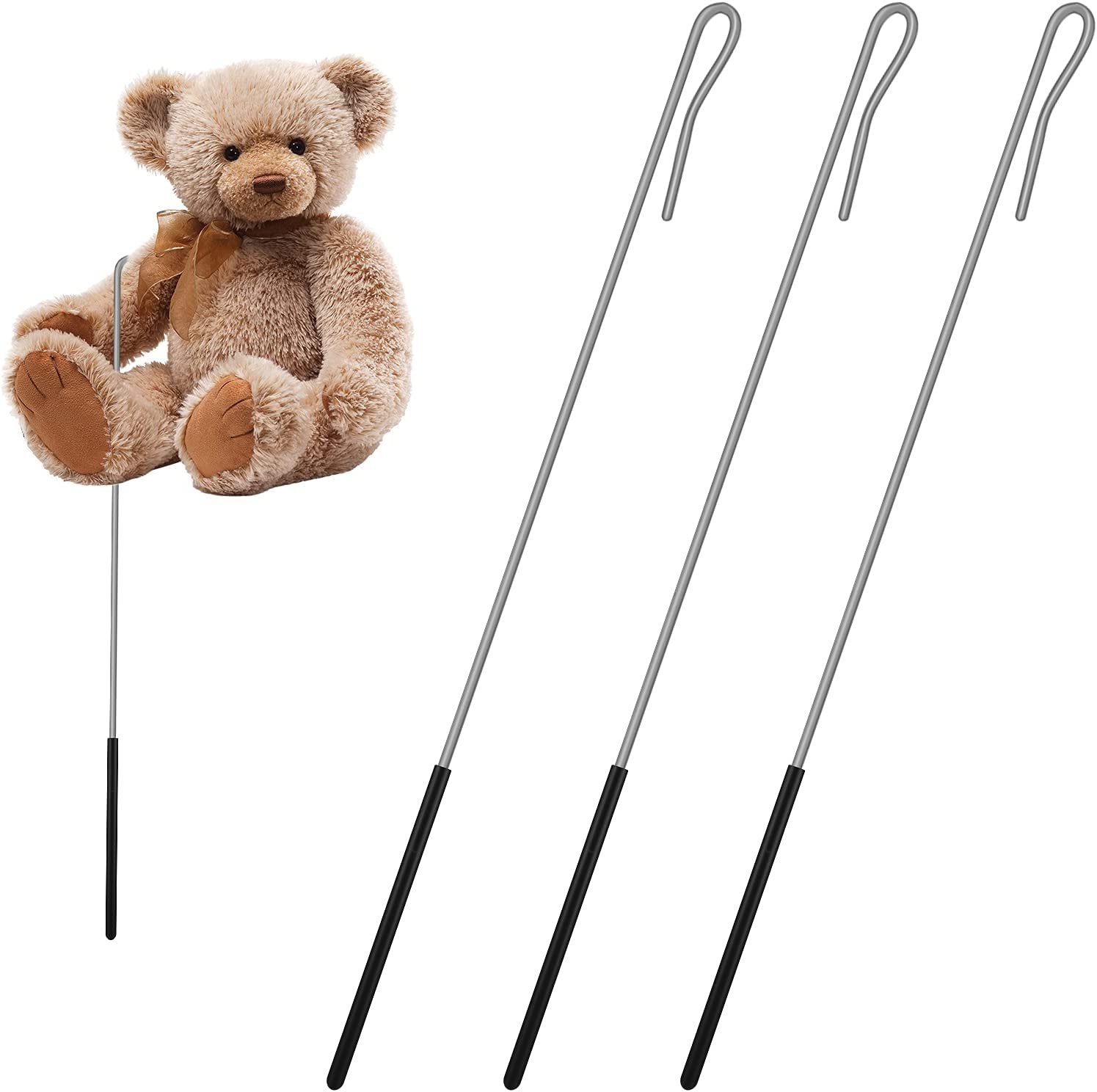 Now free shipping 3 Max 81% OFF Packs Puppets Arm Control Ro Handles Accessory Rod