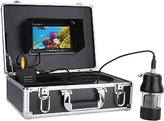 GRXXX Pescado bajo el Agua Finder HD cámara subacuática de 7 Pulgadas CCD Pantalla de Color 700 TVL Kit de cámara de Pesca...