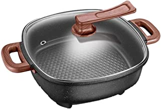 DYXYH Électrique Shabu Shabu Pot et revêtement anti-adhésif, électrique Hot Pot d'accueil multi-fonction électrique Hot Po...