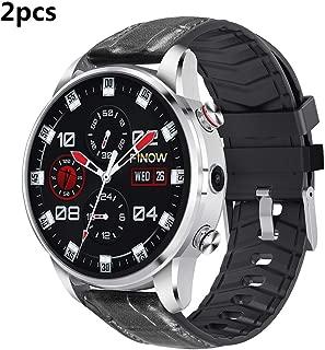 ZUKN 1.39 Pulgadas de Pantalla 4G Smartwatch con podómetro Monitor ...