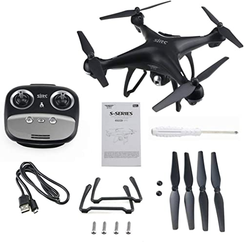 4 Axes S70W Full HD 1080P 90 degrés Grand Angle Dual GPS-2.4GHz WiFi FPV Drone Quad Copter hélicoptères RC Avions ToGames-FR
