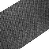 casa pura Teppich Läufer in Sisal Optik | Flachgewebe mit Tiger-Eye-Struktur | ausgezeichnet mit GUT-Siegel | kombinierbar mit Stufenmatten (Anthrazit, 100x300 cm)
