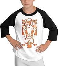LOVEGIFTTO KID Kids Stone Temple Pilots O-Neck 3/4 Sleeve Raglan Tee Shirt