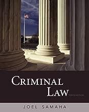Best joel samaha criminal law 10th edition Reviews