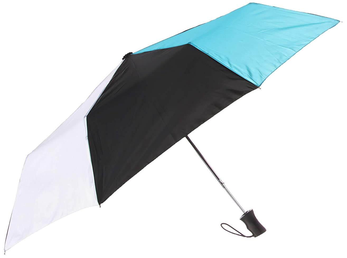 totes Auto Open Water-Resistant Foldable Umbrella with Sun Protection